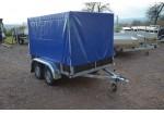 Kerenzo Bois 254 x 150 double essieux bache haute PTAC 750 kg